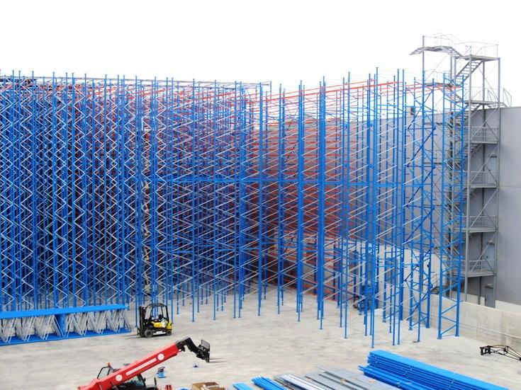 Монтаж на стелажи Installation of pallet racks PROINSTALL 6