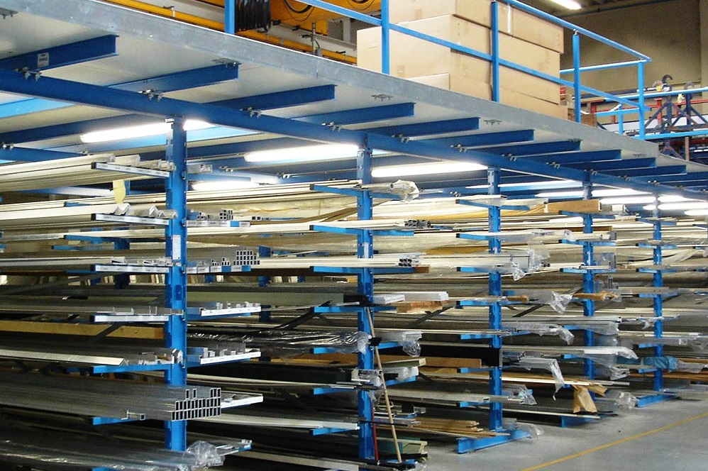 Нестандартни конзолни стелажи Cantilever racks PROINSTALL 5