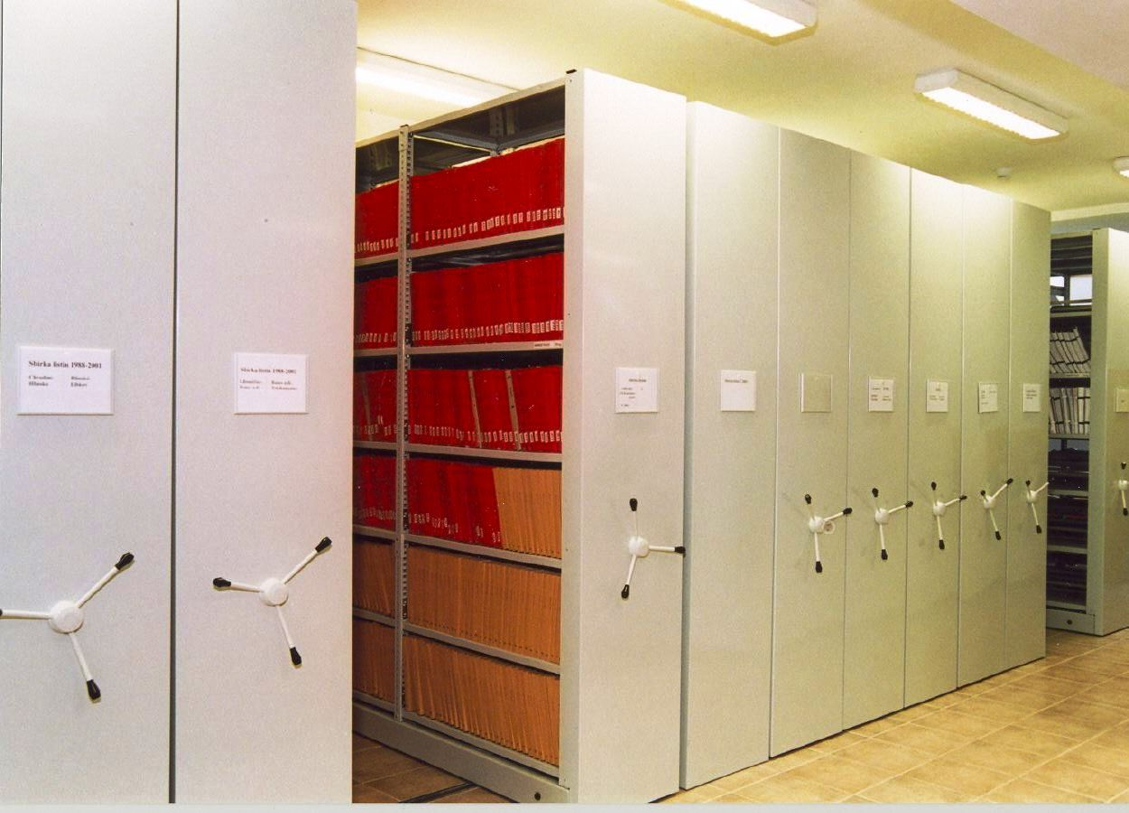 Стелажи за архив racks for archive PROINSTALL 4