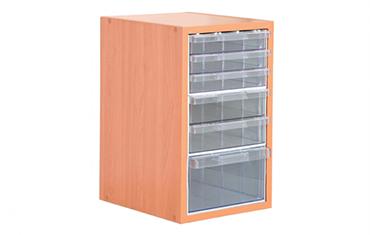 едностранен-дървен-щендер-с-кутии-single-side-wooden-cabinet-with-plastic-drawers-TS13-PROINSTALL-700x511