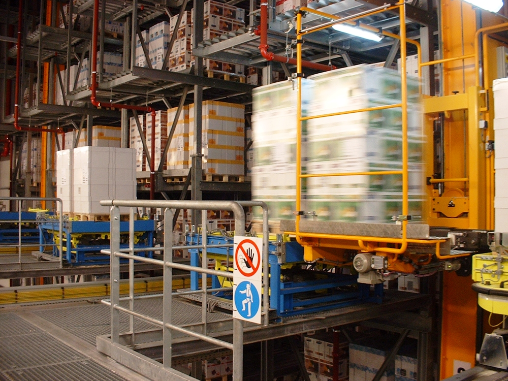 1.Автоматизирани системи за складиране на палети PROINSTALL automatic pallet warehouse