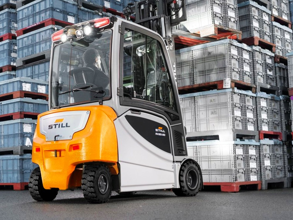 1. ЕЛЕКТРОКАР PROINSTALL electric forklift