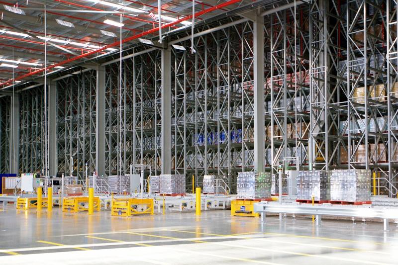 3.Автоматизирани системи за складиране на палети PROINSTALL automatic pallet warehouse