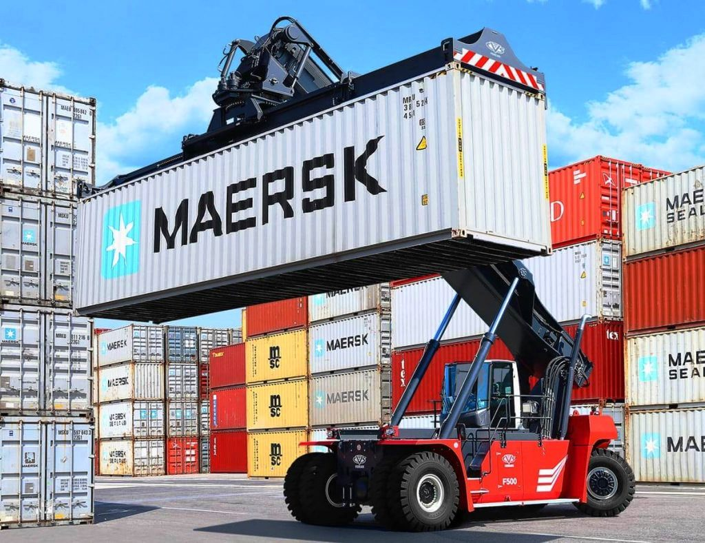 3.LCH МАНИПУЛАТОР ЗА КОНТЕЙНЕРИ PROINSTALL Loaded Container Handler