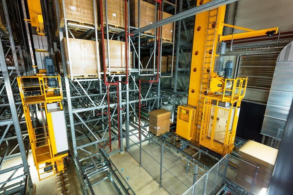 4.Автоматизирани системи за складиране на палети PROINSTALL automatic pallet warehouse