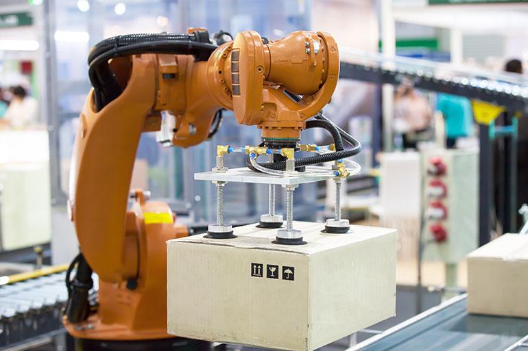 4.Роботизирани логистични решения PROINSTALL Robotic logistics solutions
