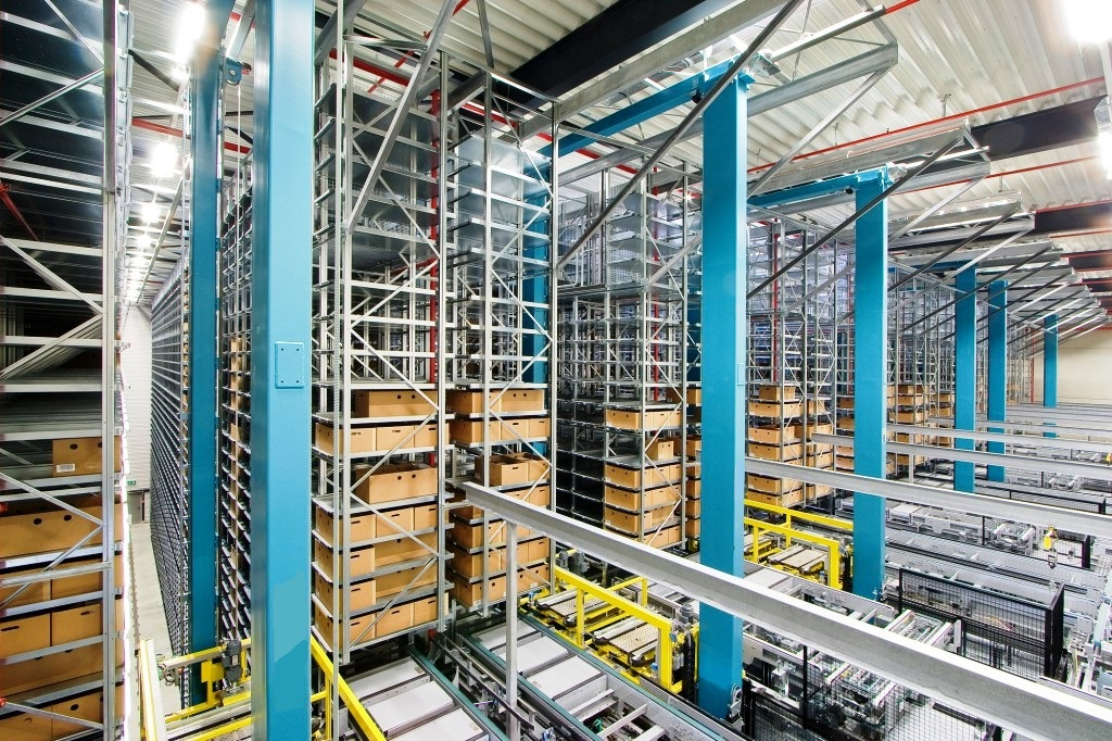 6.Автоматизирани системи за складиране на кутии PROINSTALL Automated Box Warehouse