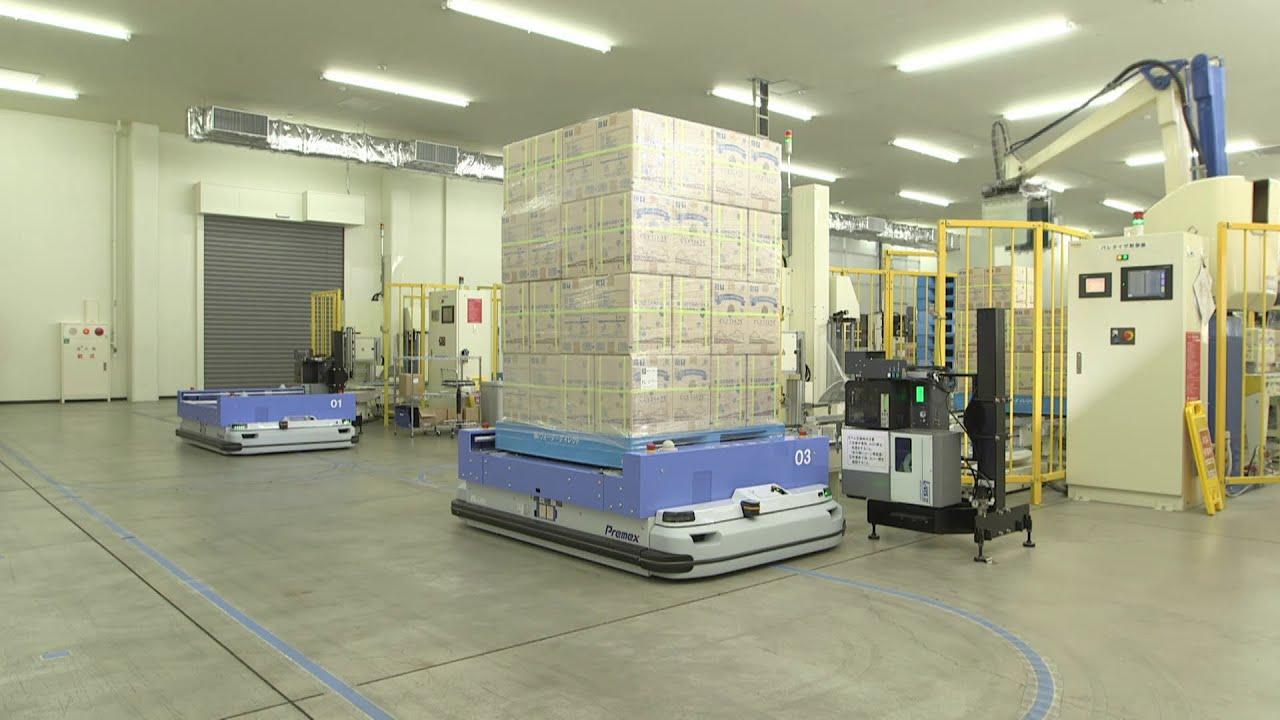 5.Роботизирани логистични решения PROINSTALL Robotic logistics solutions