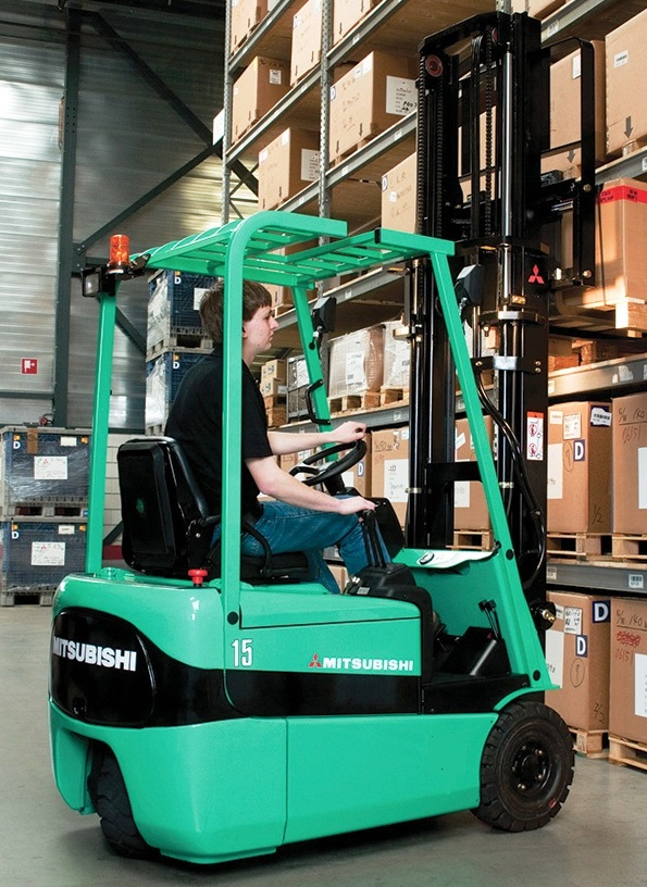 6. ЕЛЕКТРОКАР PROINSTALL electric forklift